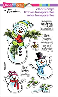 STAMPENDOUS CLEAR STAMPS STAMPND WINTRY DAY