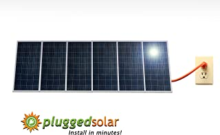 1500 Watt Solar Panels and Micro Grid Tie Inverter, Simply Plug into Wall, 120V or 240V AC Outlet, Utility Approved Micro Grid Tie Inverter (UL-1741). Breakthough in Solar. 30 Percent Federal Tax Credit