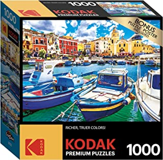 Kodak 1000 Pieces Puzzle Asst. Colorful Procida Island And Boats, Italy