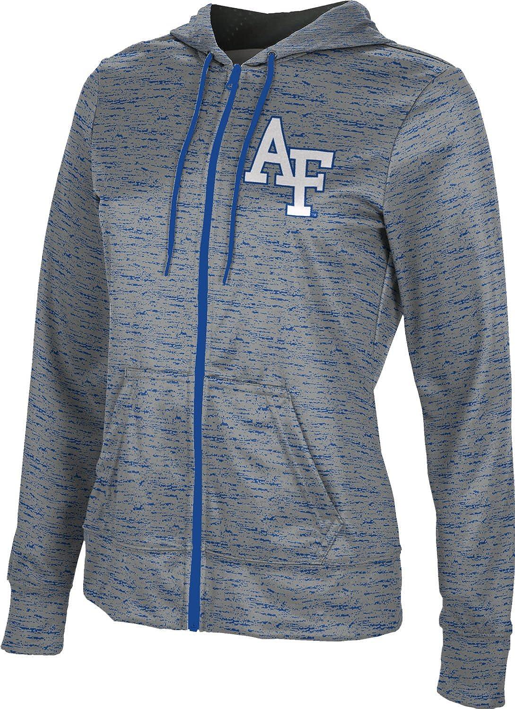 U.S. Air Force Academy Girls' Zipper Hoodie, School Spirit Sweatshirt (Brushed)