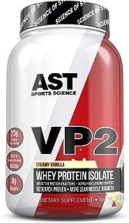 VP2 Whey Isolate - (Creamy Vanilla) - AST Sports Science - Science Backed Protein Formula