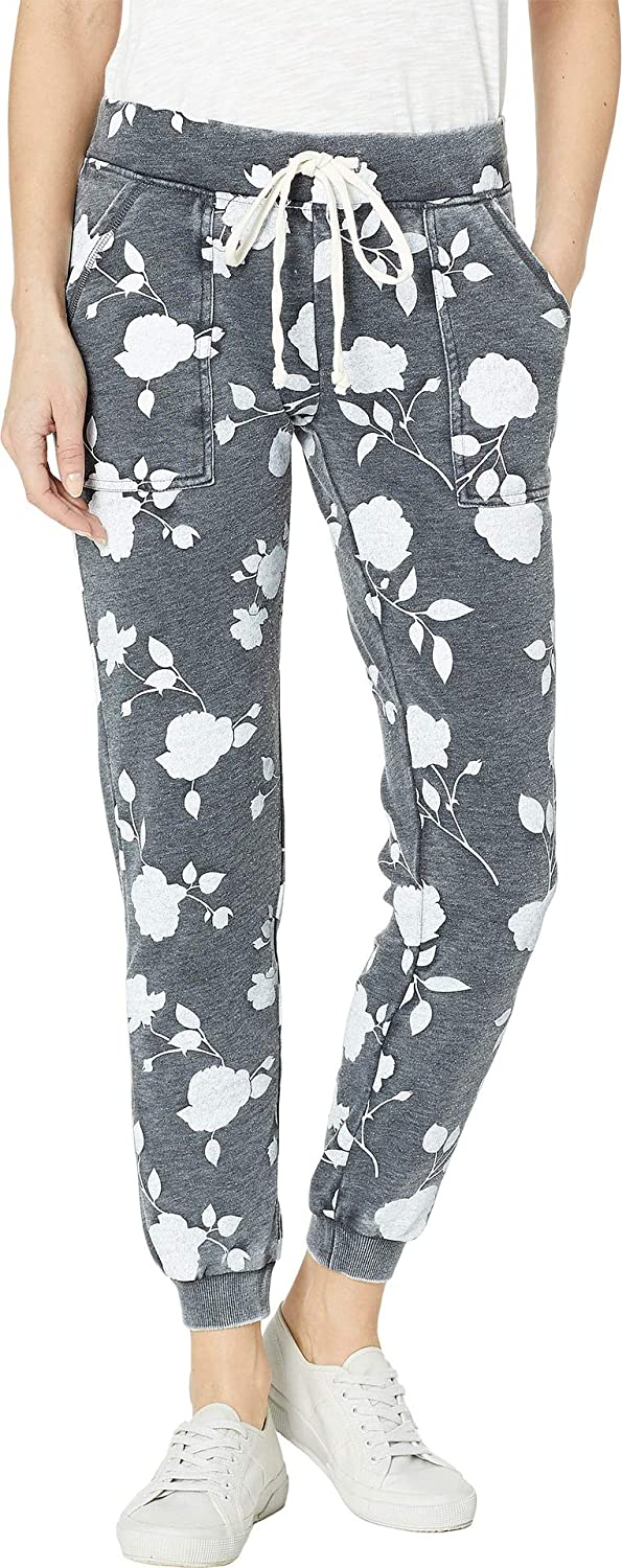 Alternative Womens Long Weekend Printed Burnout French Terry Pants Casual Pants