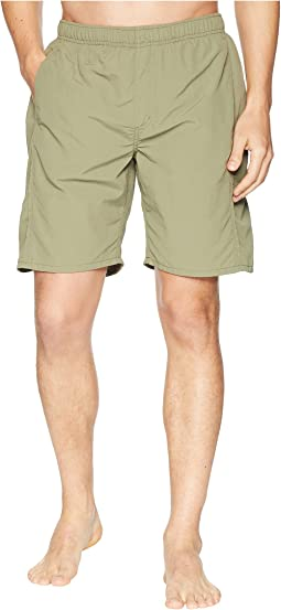 White Sierra Gold Beach Water Shorts 8""