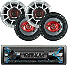 $69 » Sponsored Ad - Audiotek AT-249BT Single Din Digital Car Stereo Receiver with Bluetooth Bluetooth / USB / FM / MP3 and 4X S...