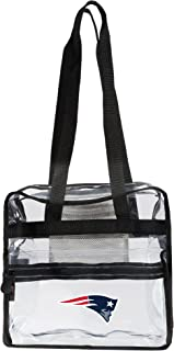 "Officially Licensed NFL Clear Zone Stadium Friendly Tote, Clear, 12"" x 5"" x 12"""