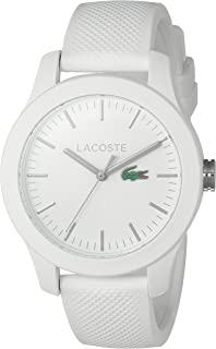 Women's 'Ladies 12.12' Quartz Resin and Silicone Watch, Color:White (Model: 2000954)