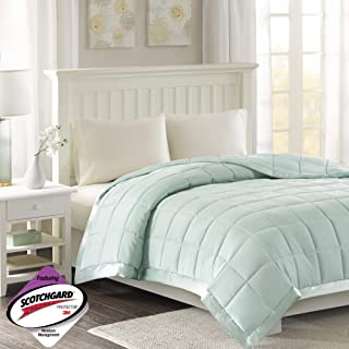 mint green king size quilt