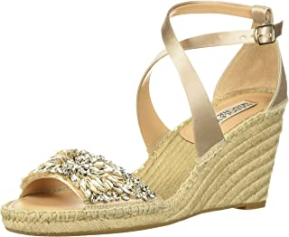 Badgley Mischka Women's Scarlette Espadrille Wedge Sandal