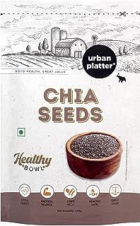 Urban Platter Healthy Bowl Raw Chia Seeds, 200g