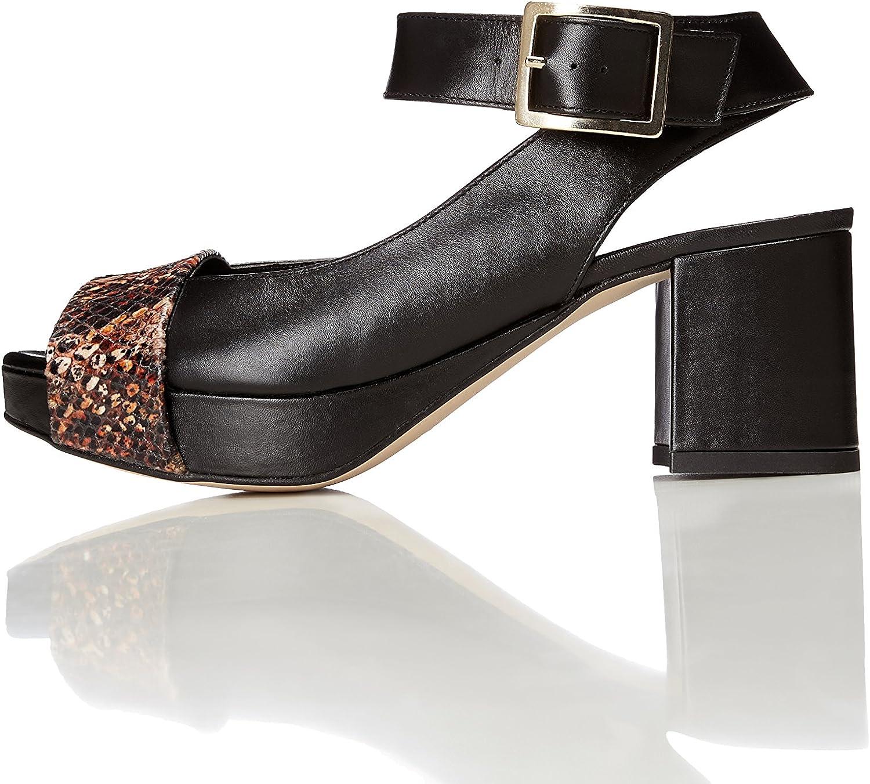 Find. Damen Sandalen aus Leder