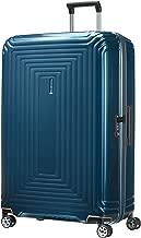 Samsonite Suitcase, Metallic Blue