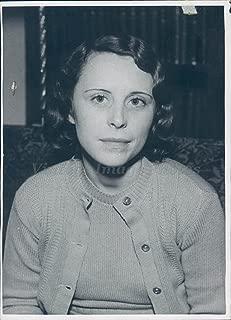 Vintage Photos 1934 Photo Grace Kane Radio Station Employee KHJ Los Angeles Beautiful Woman