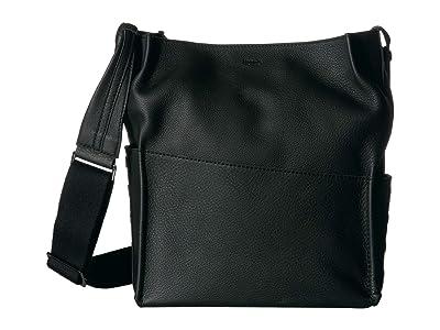 Hammitt Davis (Black/Gunmetal) Handbags