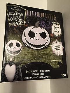 Disney's Tim Burton's The Nightmare Before Christmas 25 years Jack Skellington Pumpkin Airblown Inflatable
