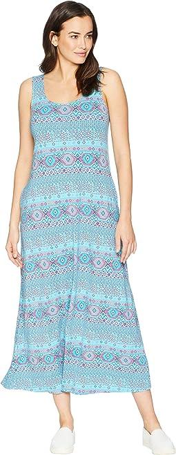 Stamped Geo Maxi Dress