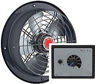 250mm Ventilador industrial con 500W Regulador de Velocidad