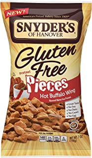 Snyder's of Hanover Gluten Free Pretzel Pieces, Hot Buffalo Wing, 7 Ounce