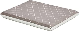"""Midwest Homes for Pets Quiet Time Couture Paxton Pet Bed with Removable Pillow Cover, Mushroom, 24"""""""