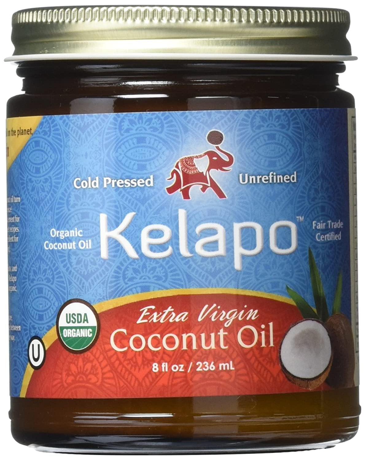 Kelapo Some reservation Extra Virgin National uniform free shipping Coconut Ounce 8 Oil