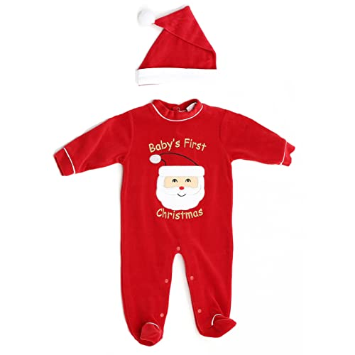 c6ae40208 Babies First Christmas Outfit Boy: Amazon.com