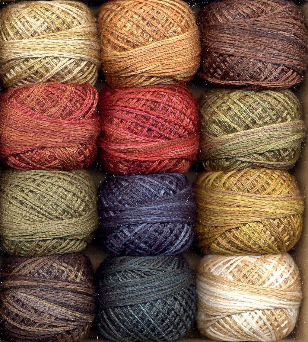 Valdani 3-Strand Cotton Embroidery Luxury goods Floss Fusion Folk Art Max 61% OFF 12-Ball