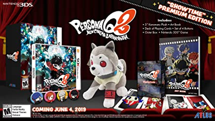 Persona Q2: New Cinema Labyrinth ''Showtime'' Premium Edition – Nintendo 3DS