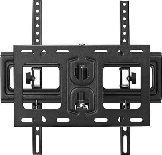 Ribelli® TV Wandhalterung LED LCD 37 – 55 Zoll schwenkbar Wandhalter Fernseher neigbar (1 Arm, 37-55 Zoll)