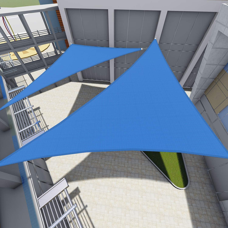 TANG Sunshades Depot 12' x 17' 180 Sun Shade Baltimore Mall GSM 4 years warranty Blue Sail