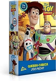 Toy Story 4, 200 Peças, Toyster Brinquedos, Multicor