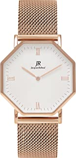 Jacques Reboul Lumiere Intense Roman Rose | Seine Women's 36mm Rose Gold Mesh Strap