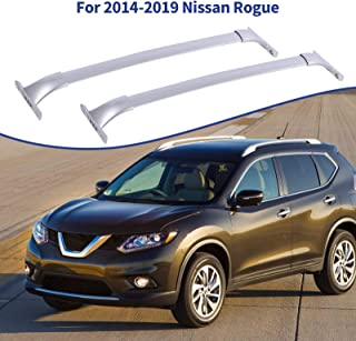 Sponsored Ad - Ai CAR FUN Roof Rack Cross Bars Compatible for Nissan Rogue 2014-2019, Aluminum Cargo Carrier Rooftop Lugga...
