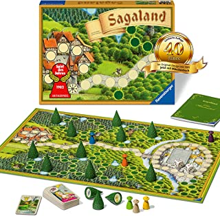 Ravensburger Family Game - Sagaland 40 Years Anniversary Edition 27040 - A Classic Game from 6 Years