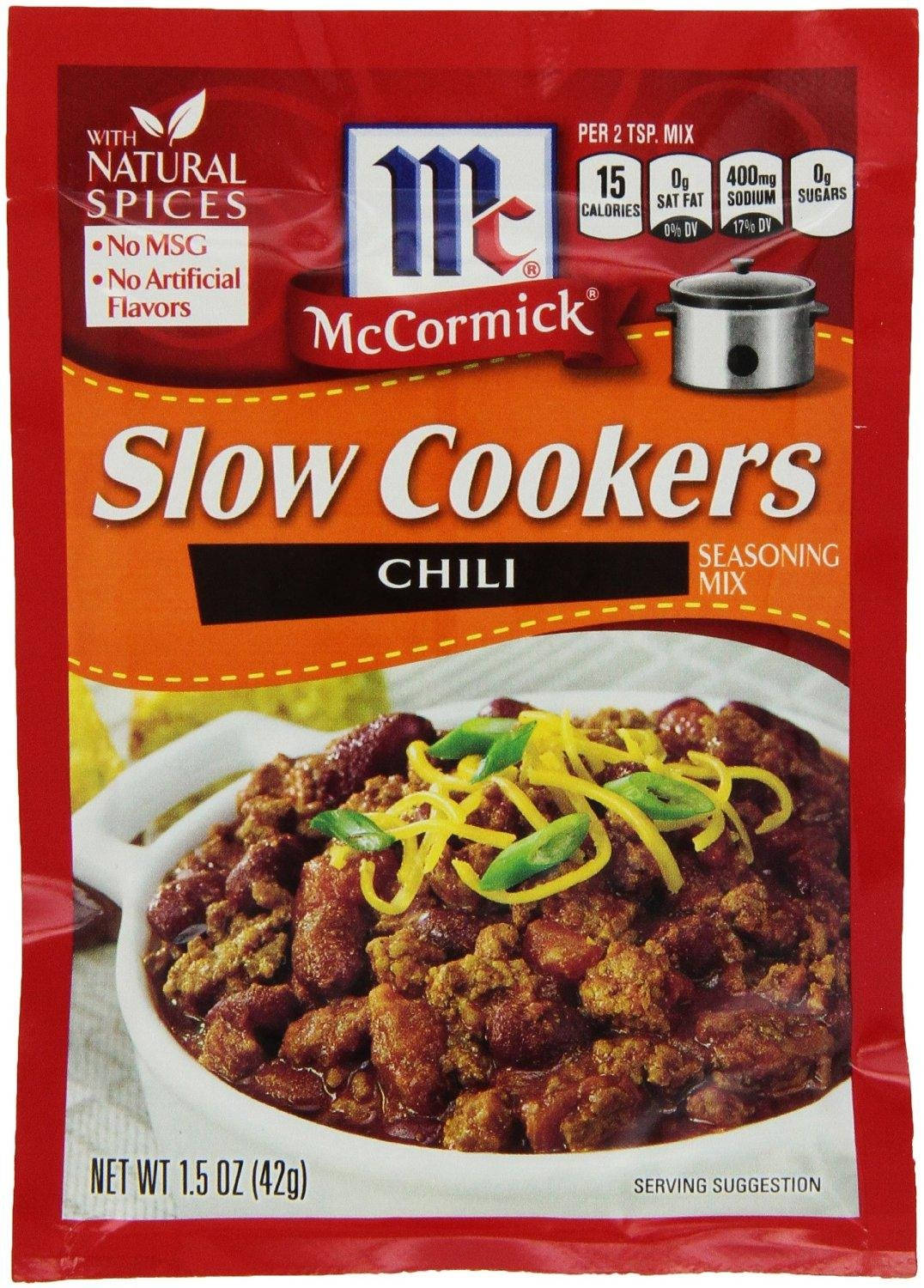 Mccormick Slow Cookers Chili Seasoning Mix 1 5 Oz Packets 4 Pack Buy Online In Brunei At Brunei Desertcart Com Productid 44161362