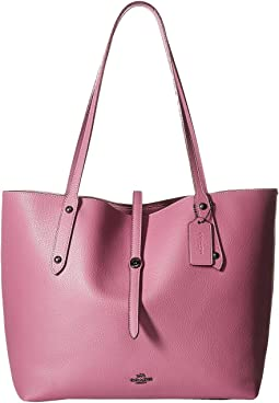 COACH - Market Tote with Metallic Lining