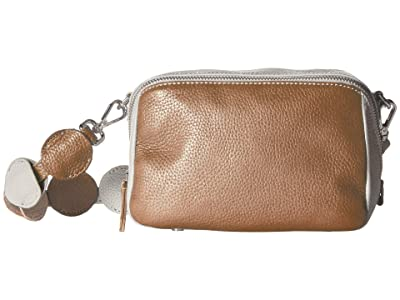 ECCO SP 3 Medium Boxy (Cashmere/Volluto) Wristlet Handbags