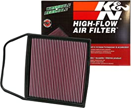 K&N engine air filter, washable and reusable: 2006-2017 BMW (Z4, Z4 sDrive 35i, 335is, Z4 3.5 sDrive I, 1 Series M, 135i and other select models) 33-2367