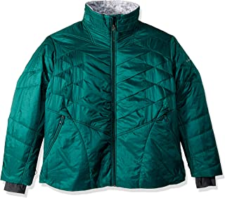 Columbia Womens Kaleidaslope II Jacket – Plus Size, Thermal Reflective Warmth