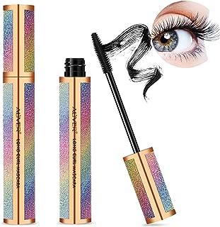 4D Silk Fiber Lash Mascara, Mascara Black Volume and Length Lasting All Day, Waterproof Mascara Lengthening No Clumping, N...