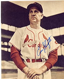 Enos Slaughter Signed Photo - 8x10 - Autographed MLB Photos