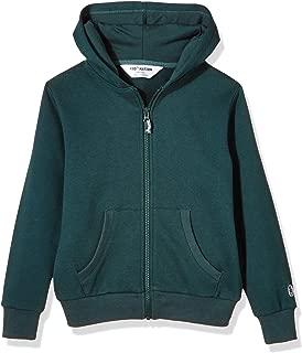 Kids' Soft Brushed Fleece Zip-Up Hooded Sweatshirt Hoodie for Boys or Girls,Age (4-12Years)