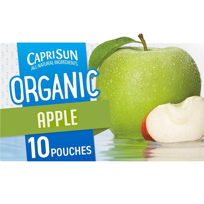 Capri Sun Organic Apple Ready-to-Drink Juice (10 Pouches)