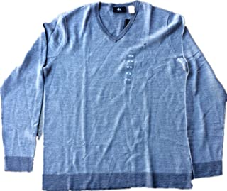 Calvin Klein Men's Merino Wool Sweater (Albenga Combo, Large)