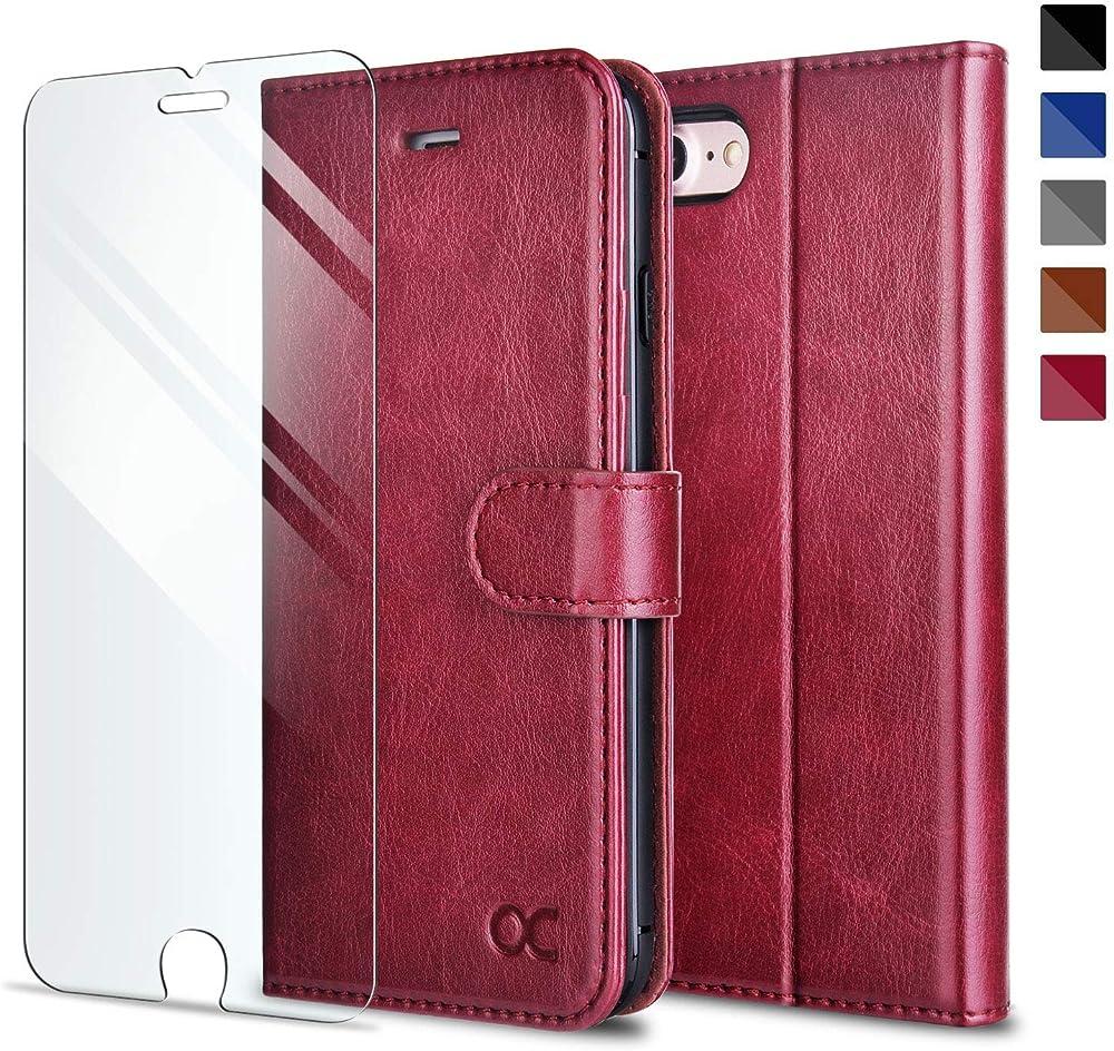 Ocase custodia iphone se 2020 iphone 7 / iphone 8 portafoglio in pelle sintetica YTD-FR20013-1030