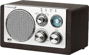 Retro Radio | USB-Eingang | AM Radio | FM Radio | Teleskopantenne | Nostalgie Radio | Küchenradio | Nostalgieradio | USB Radio | Musikanlage | Kompaktanlage | Küchen Radio |
