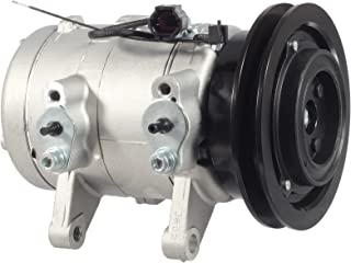 AUTEX AC Compressor and A/C Clutch CO 10607C 68455 926008B400 Replacement for Nissan Frontier 1998-2004 2.4L Compatible with Nissan Xterra 2000-2004 2.4L