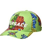 Versace - Flower & Chain Print Baseball Hat