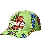 Versace - Flower & Chain Print Baseball Hat