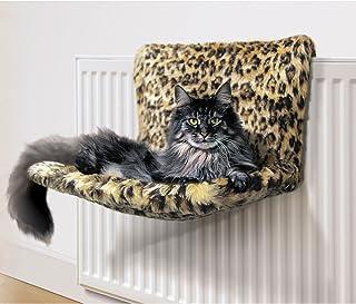 Danish Designs Cama para Gatos con diseño danés Kumfy Kradle Leopard (Ancho)