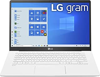 "LG gram Laptop - 14"" Full HD IPS Display, Intel 10th Gen Core i5-1035G7 CPU, 8GB RAM, 256GB M.2 NMVe SSD, Thunderbolt 3,  18.5 Hour Battery Life - 14Z90N-U.ARW5U1  (2020)"