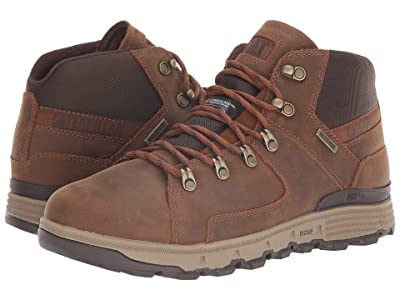 Caterpillar Casual Stiction Hiker Ice + Waterproof TX (Brown Sugar) Men